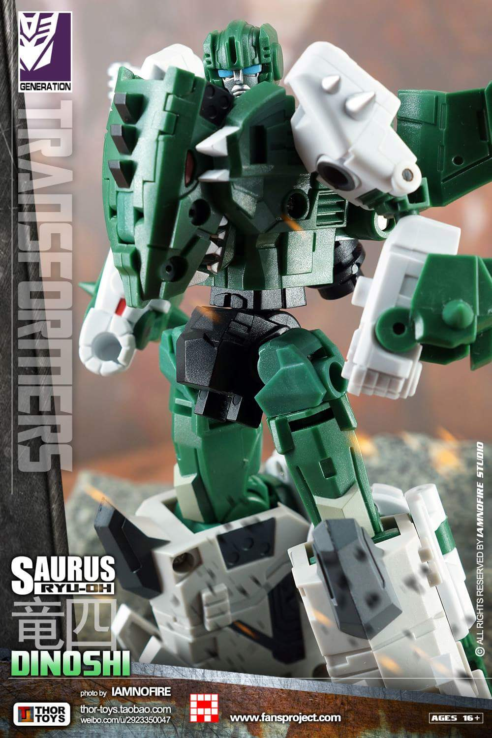 [FansProject] Produit Tiers - Jouet Saurus Ryu-oh aka Dinoking (Victory) | Monstructor (USA) - Page 2 TYlcMuUq