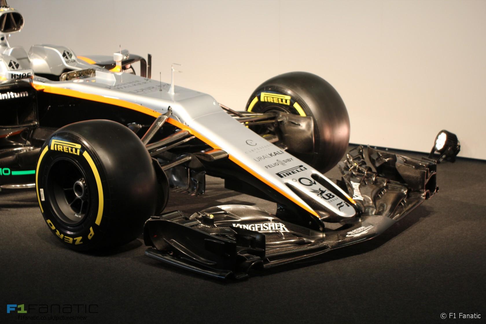 F1: Force India revela su nuevo auto