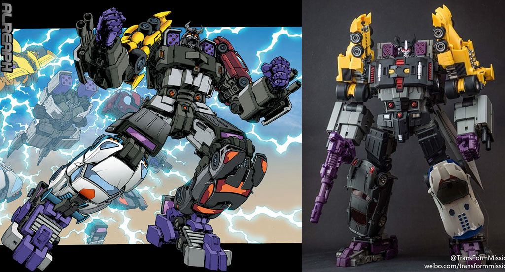 [Transform Mission] Produit Tiers - Jouet M-01 AutoSamurai - aka Menasor/Menaseur des BD IDW - Page 4 MGryUR7o