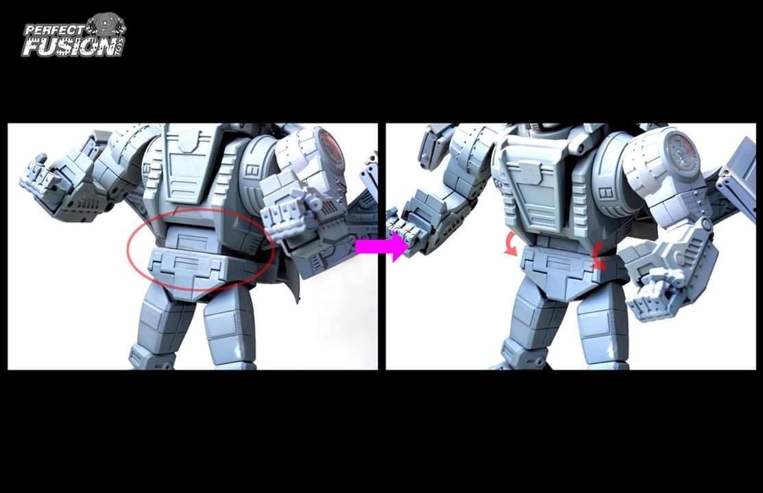 [PerfectFusion] Produit Tiers - Jouet PF-01 Cesium aka Slag/Scories (Dinobots) LLJcBcHp