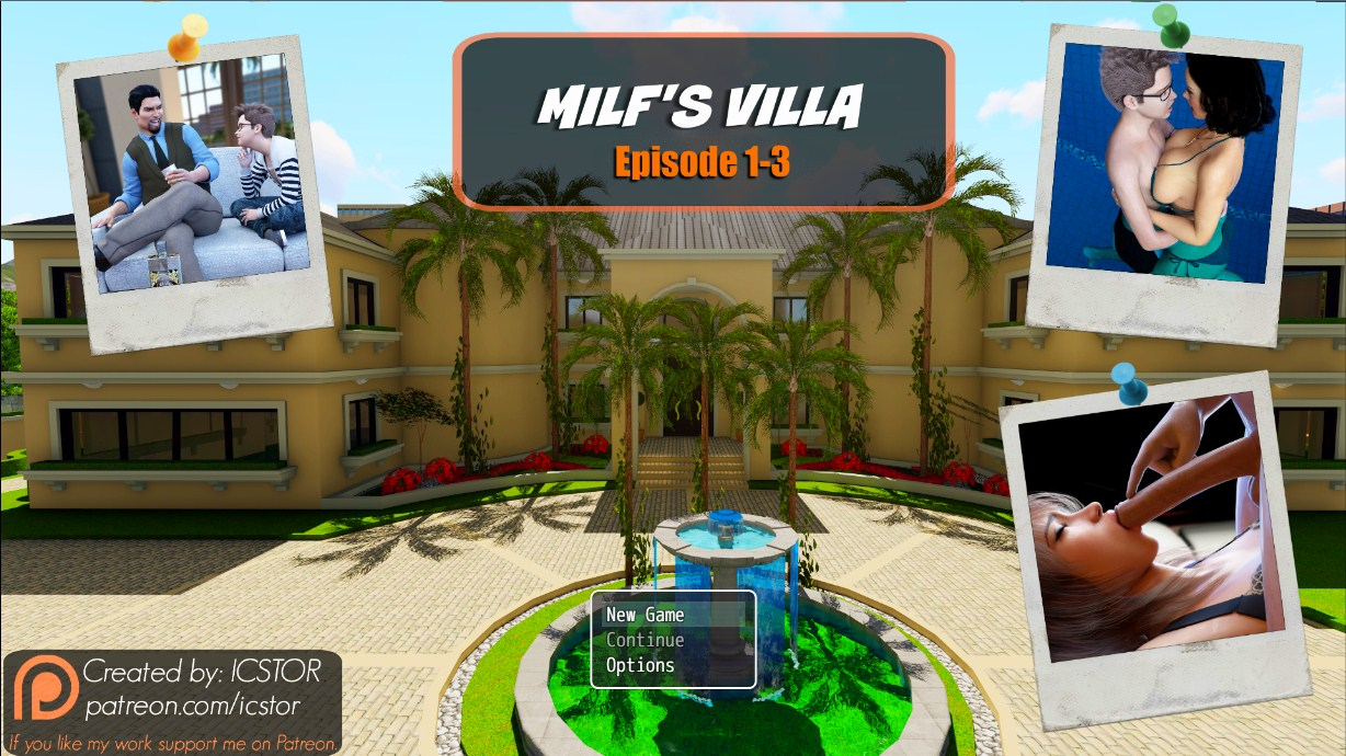Milf's Villa Episode 1-3 - Version 0.3c Icstor