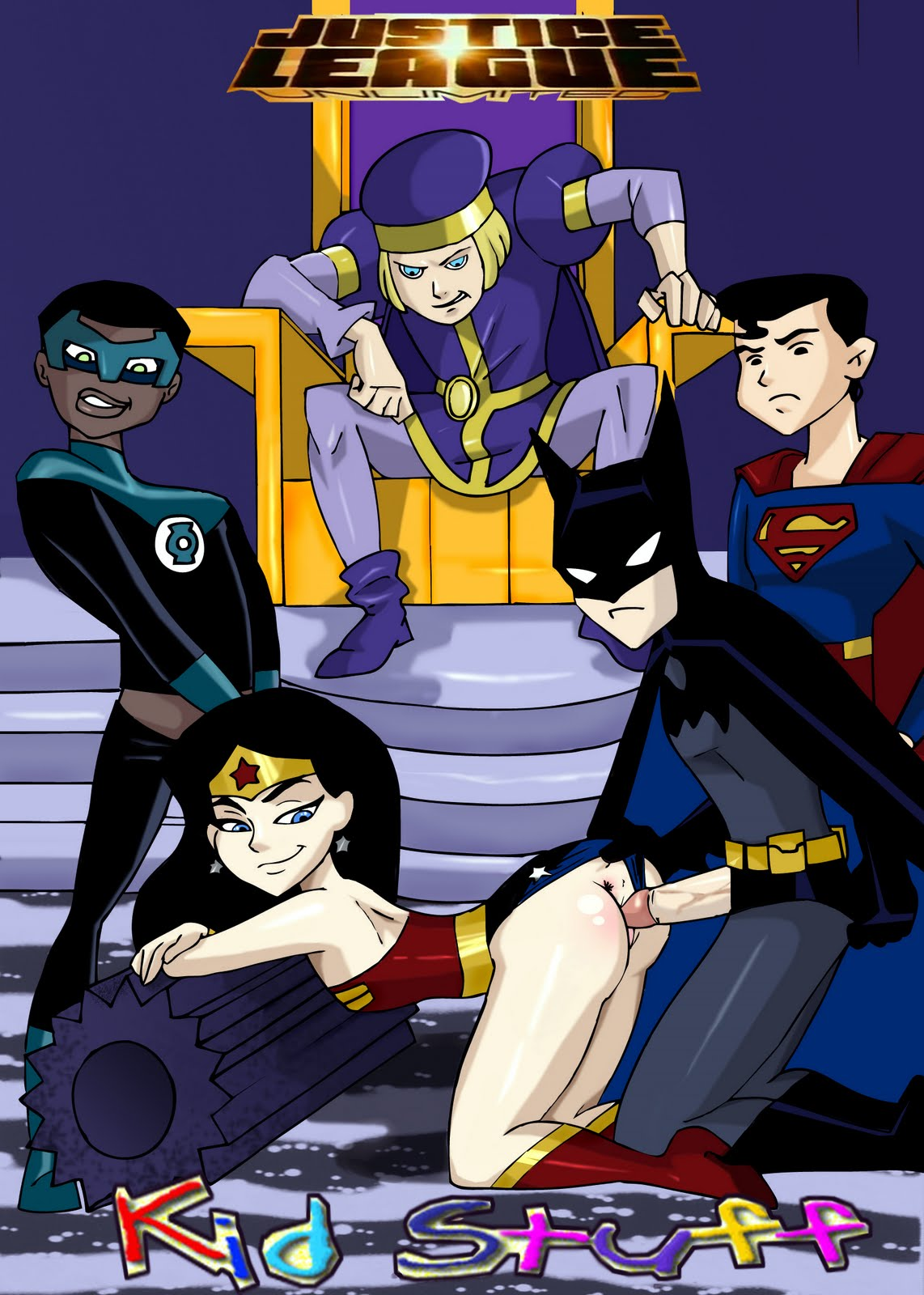 porno hardcore Justice league