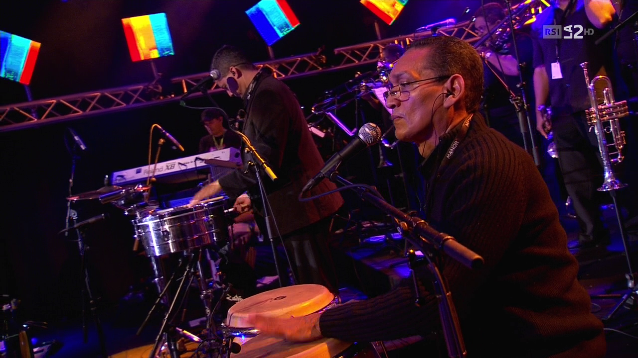 2012 Ruben Blades & Roberto Delgado Orchestra - Estival Jazz Lugano [HDTV 720p] 2