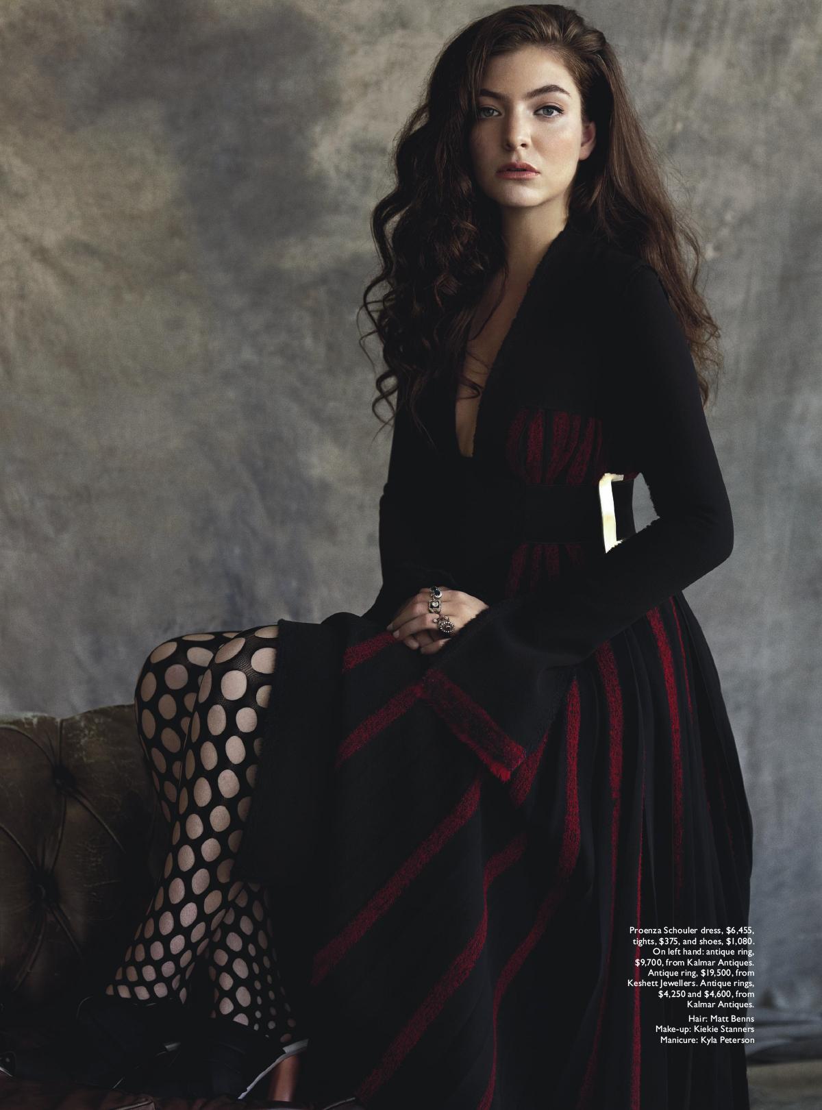 Lorde Vogue Australia July 2015 Lorde Photoshoot 2013