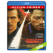 Pasajero 57 (1992) BRRip 720p Audio Trial Latino-Castellano-Ingles 5.1