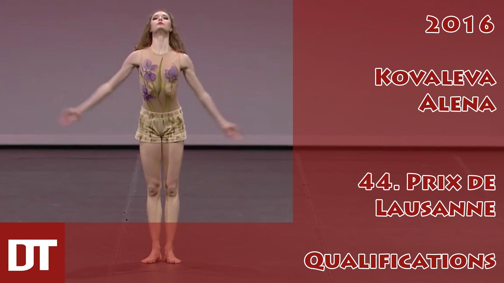 2016 – Kovaleva Alena – 44. Prix de Lausanne – Qualifications
