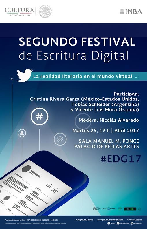 Segundo Festival de Escritura Digital #EDG17