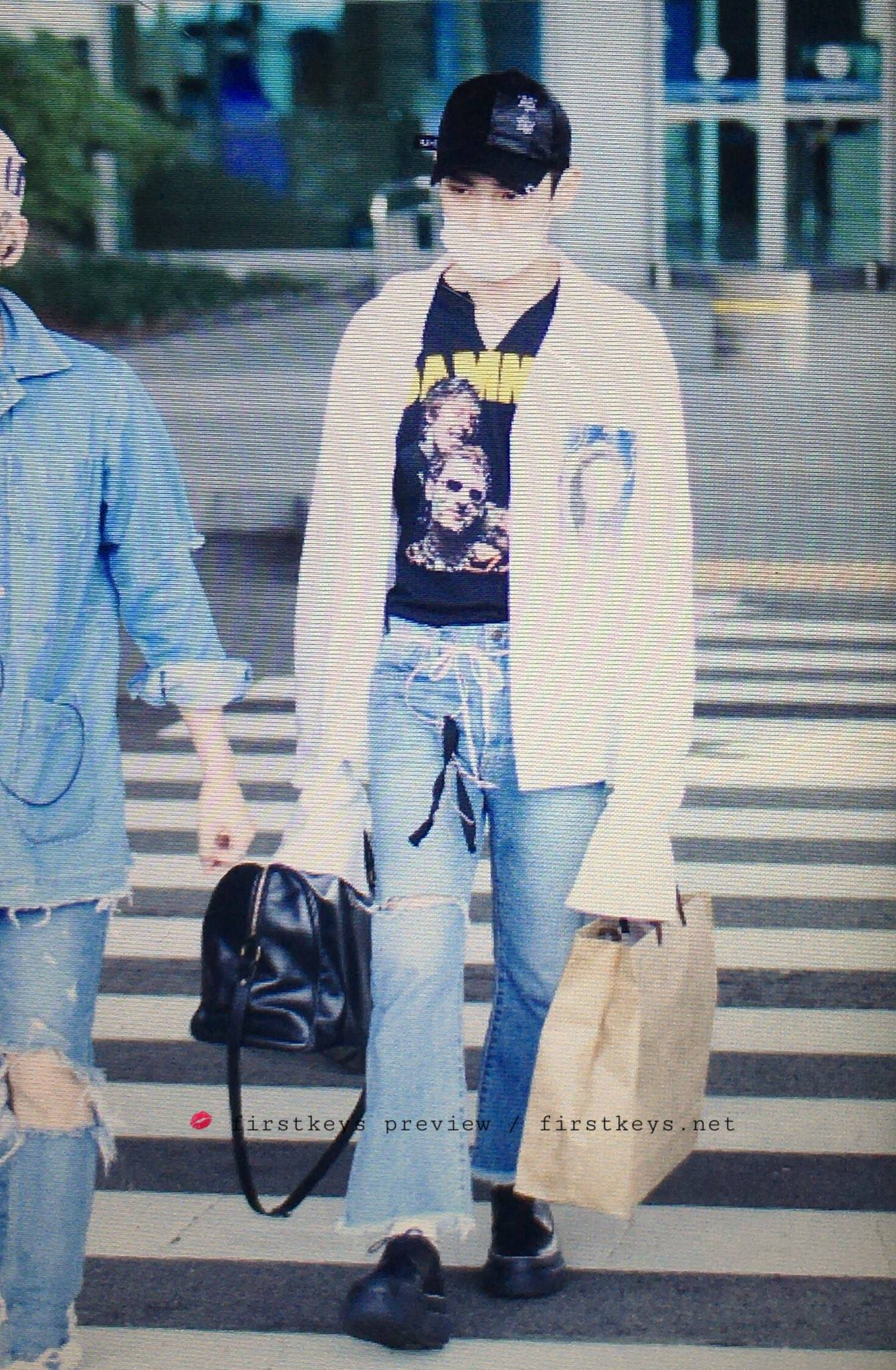 [IMG/160718] Onew, Jonghyun, Key, Minho @Aeropuerto de Kansai e Incheon (Jap-Cor) 5g4flgBR