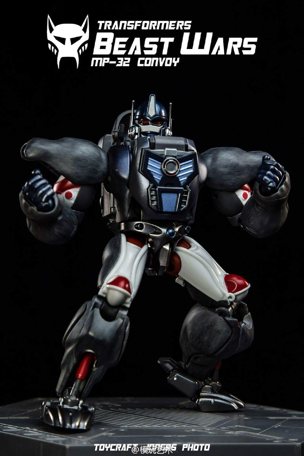 [Masterpiece] MP-32, MP-38 Optimus Primal et MP-38+ Burning Convoy (Beast Wars) - Page 3 Avp1Lhho