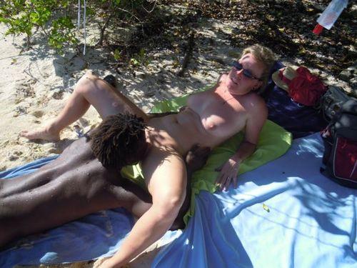 Jamaican Tourist interracial hausgemachte Amateur