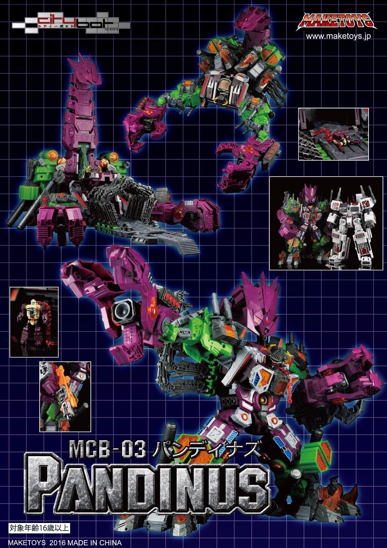 [Maketoys] Produit Tiers - Jouet MCB-03 Pandinus - aka Scorponok et MCB-03D Devil Stinger - aka Black Zarak AY3Kk0PB