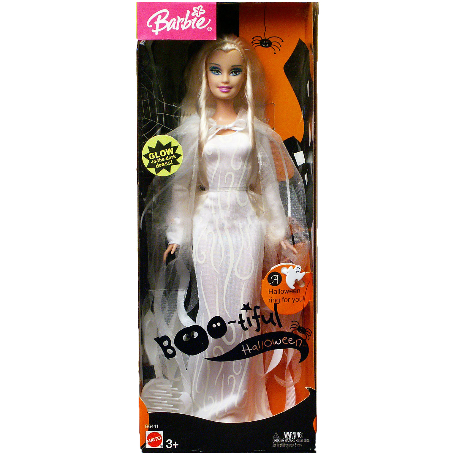 Image result for 2004 Boo-tiful Halloween Barbie