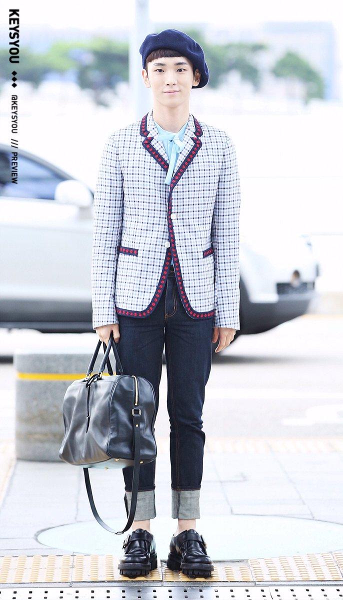 [IMG/160715] Jonghyun, Key @ Aeropuerto Incheon hacia Japón. BoQrEUzG