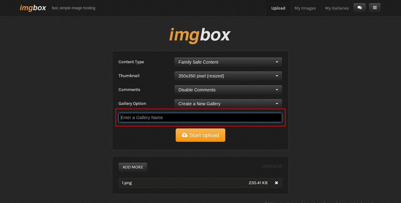 Come caricare le vostre immagini sul forum con ImgBox!