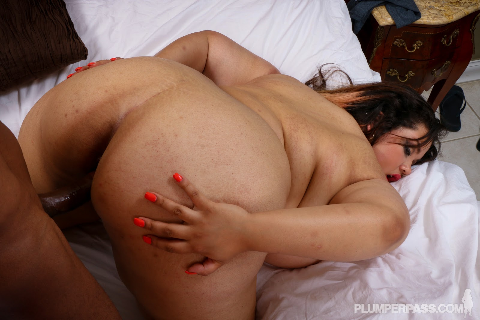Bbw chevy cobain is oiled massaged and fucked - 2 1