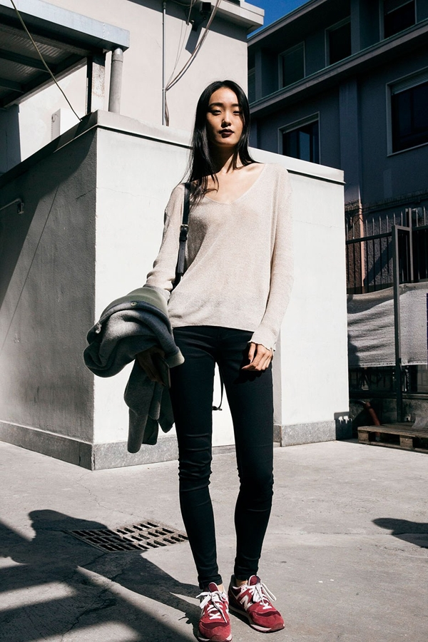 skinny jeans street style 2016-2017 pic 17