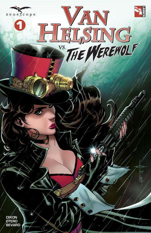 Van Helsing Vs. The Werewolf #1-3 (2017)