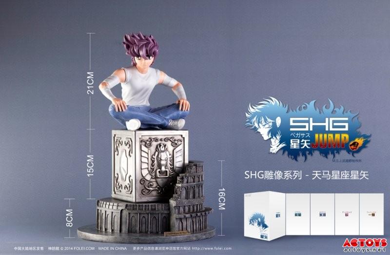 [Folei] Jump Statua Pegasus Seiya con Colosseo