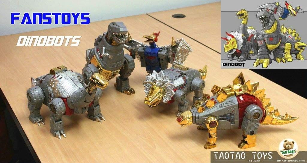 [Fanstoys] Produit Tiers - Dinobots - FT-04 Scoria, FT-05 Soar, FT-06 Sever, FT-07 Stomp, FT-08 Grinder - Page 10 H1mUH8e9