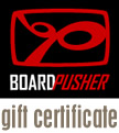 BoardPusher Gift Certificates