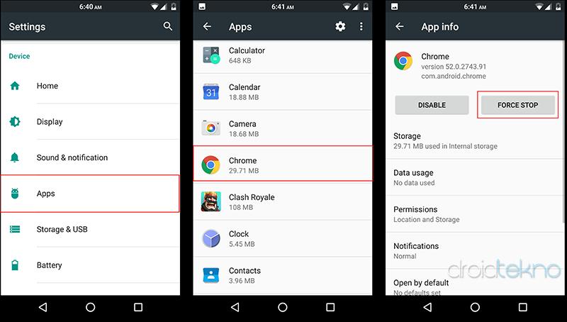 Hemat Baterai Android dari Aplikasi yang Menguras Baterai dan RAM_force_stop