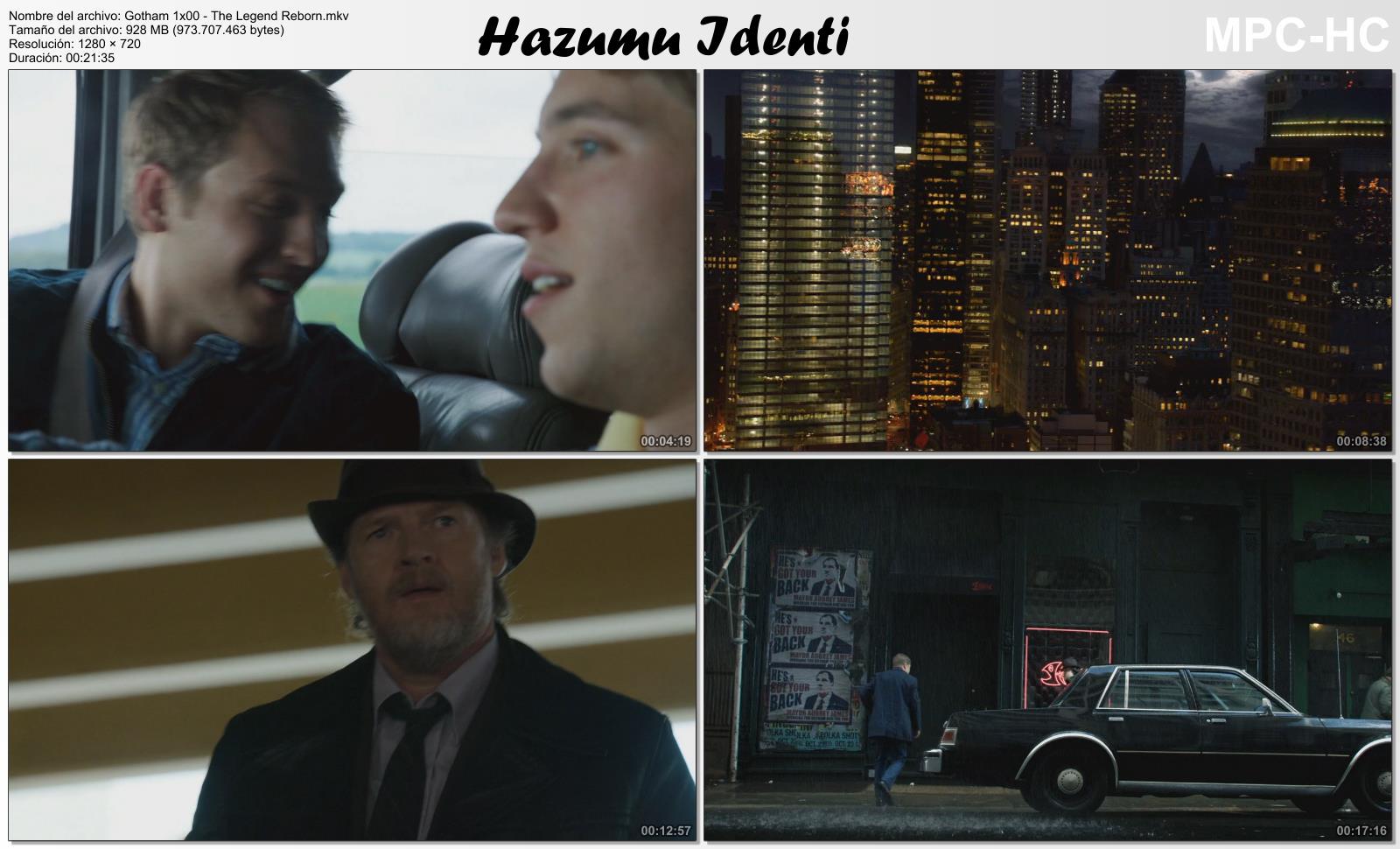 Gotham temporada 1 0 16 720p hdtv identi Gotham temporada 3 espanol