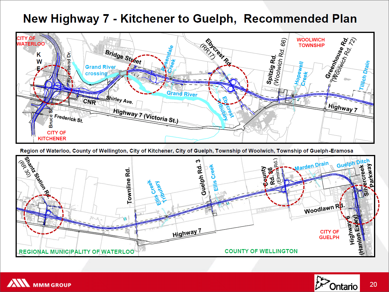 Highway 7 Kitchener to Guelph Printable Version