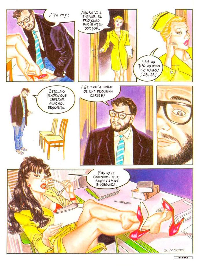 El Balanceo de Giovanna Cassotto (Fetichismo con los pies)