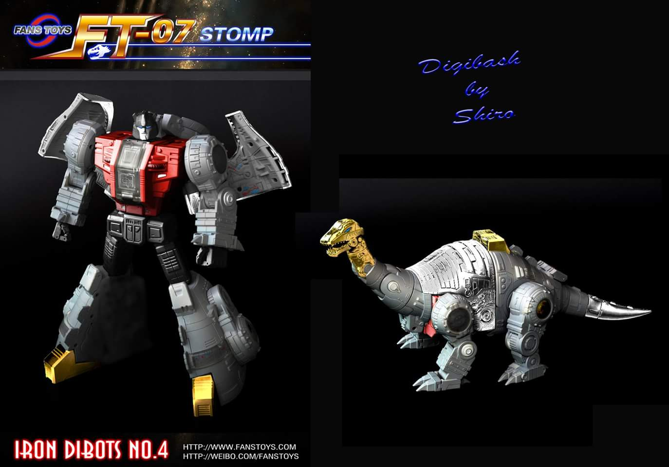 [Fanstoys] Produit Tiers - Dinobots - FT-04 Scoria, FT-05 Soar, FT-06 Sever, FT-07 Stomp, FT-08 Grinder - Page 5 H09pWwvg