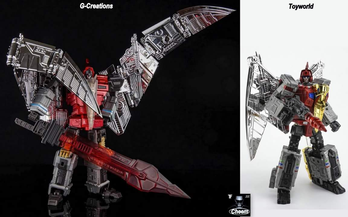 [GCreation] Produit Tiers - Jouet ShuraKing - aka Combiner Dinobots - Page 3 UzhZJ22F