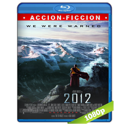 2012 (2009) Full HD1080p Audio Trial Latino-Castellano-Ingles 5.1