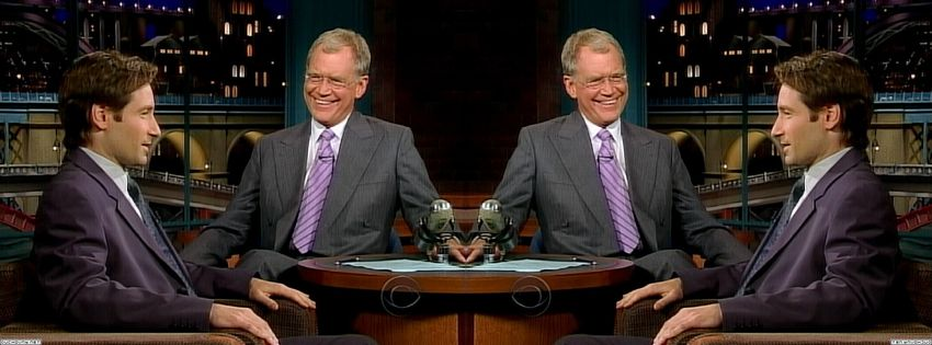 2003 David Letterman Txz1Nu21