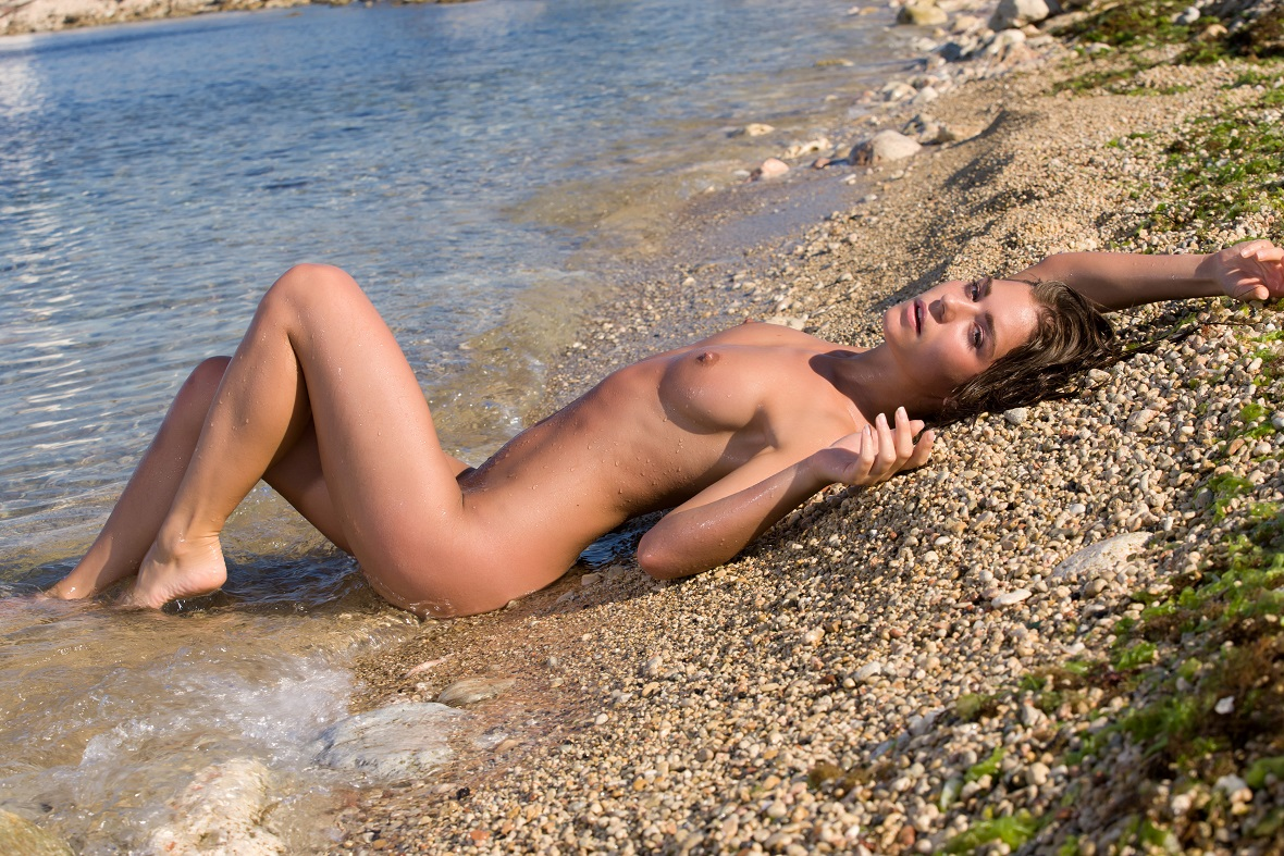 Фото совсем голая на пляже, Голые на пляже - нудистки, подгляд, частное. ВКонтакте 14 фотография