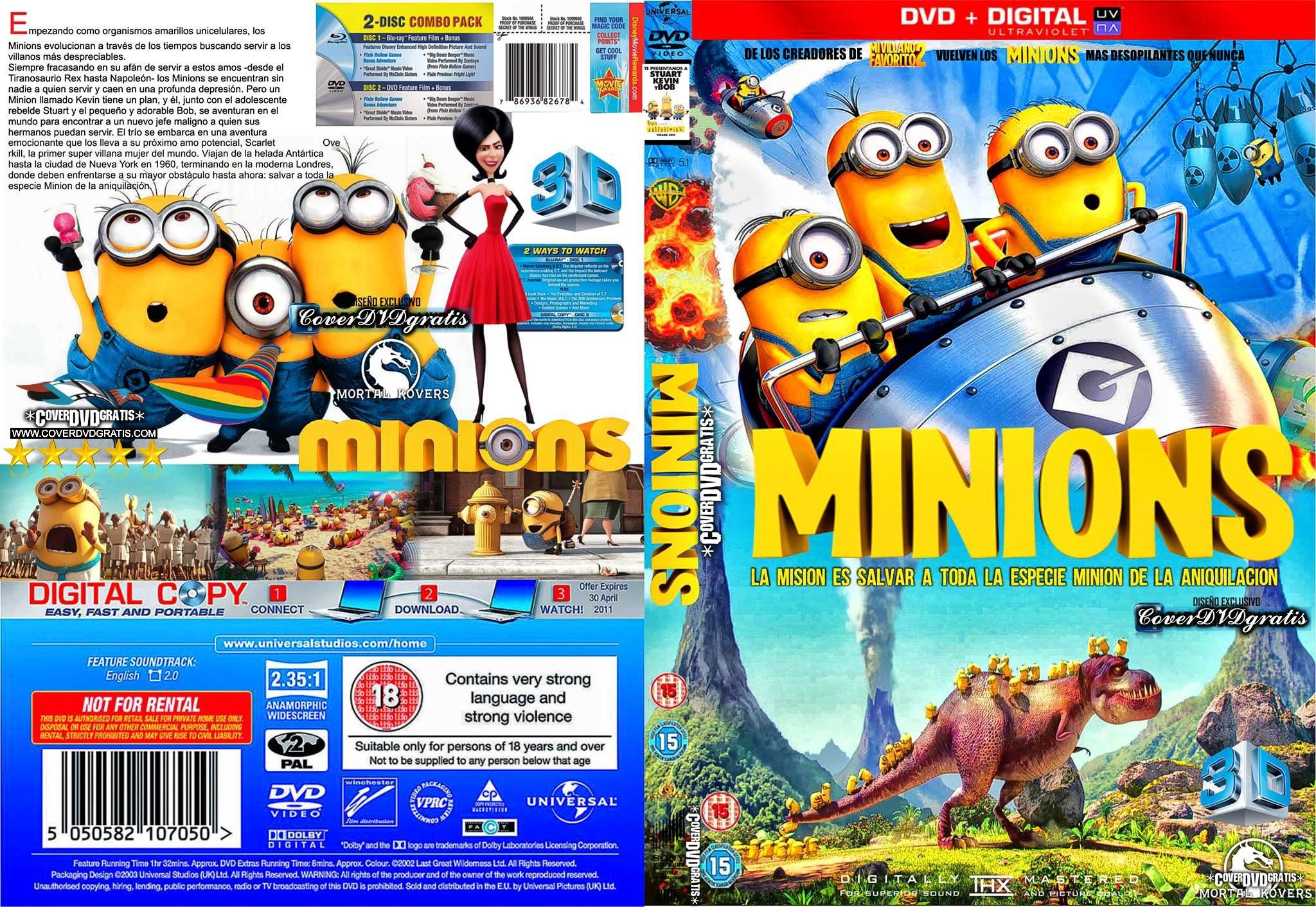 Minions bluray release date in Brisbane