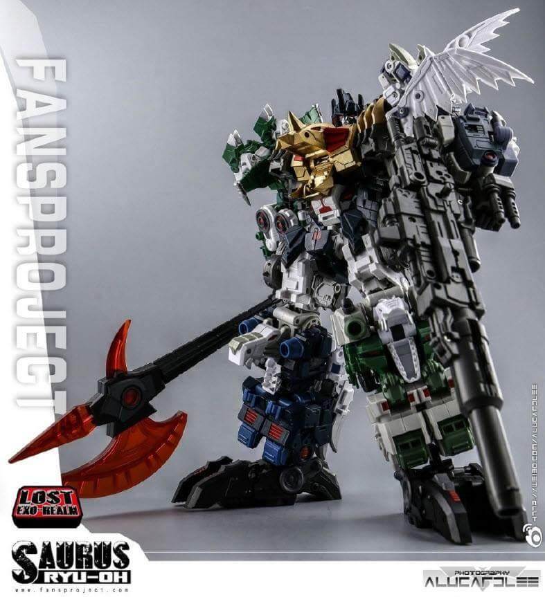 [FansProject] Produit Tiers - Jouet Saurus Ryu-oh aka Dinoking (Victory) | Monstructor (USA) - Page 2 NczGfCcv