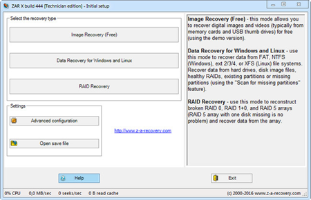 Zero Assumption Recovery 10.0.444 Technician Edition