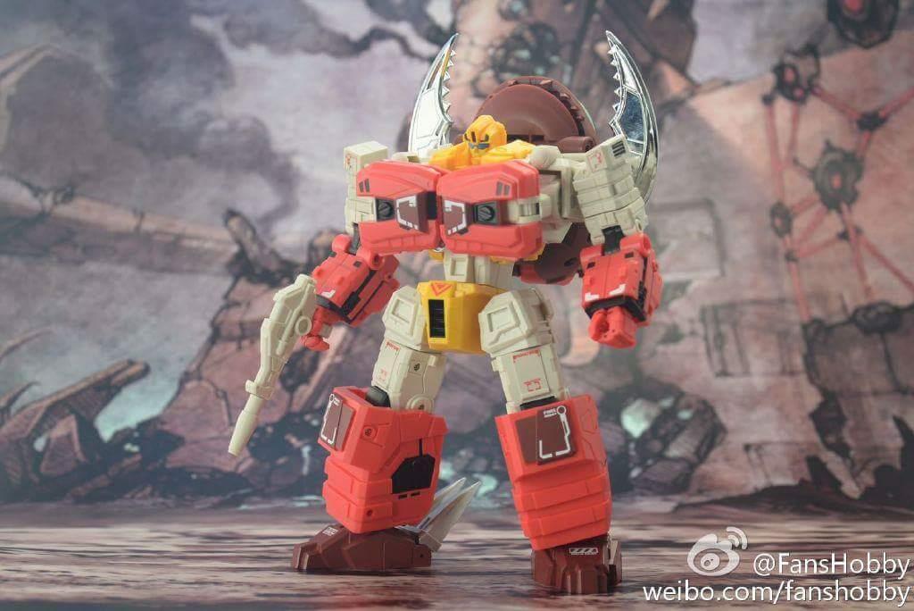 [FansHobby] Produit Tiers - Master Builder MB-02/03/05 - aka Monsterbots/Monstrebots YKFMDLiL