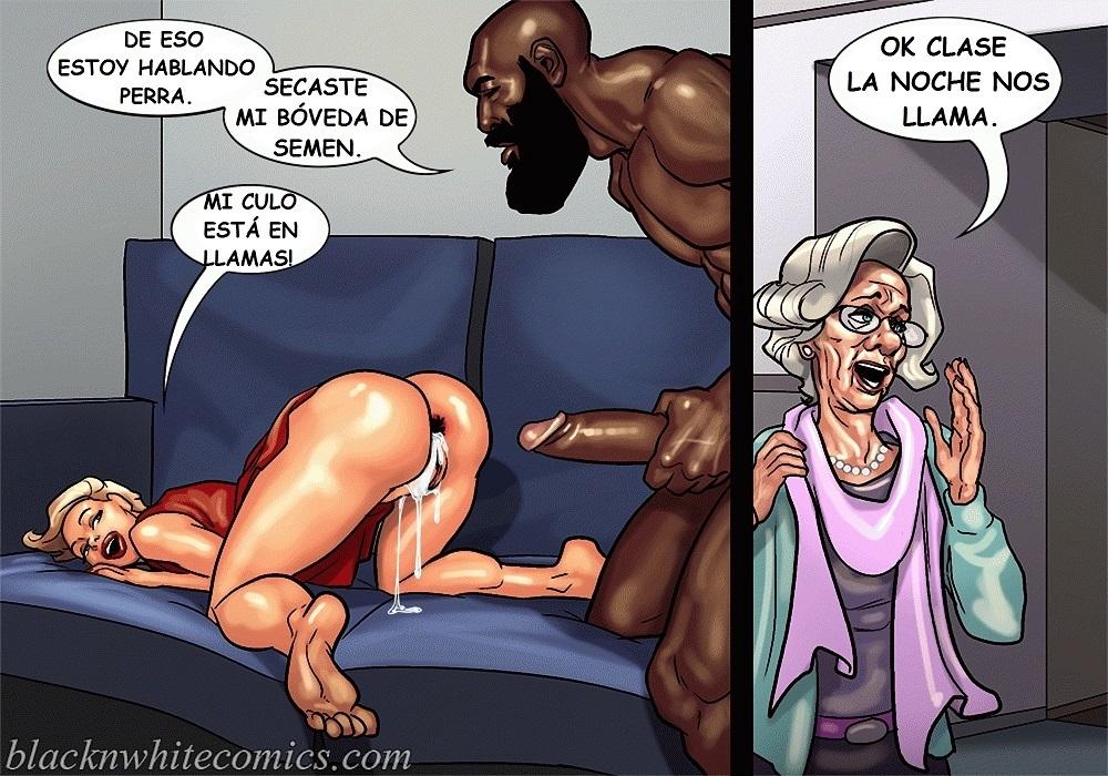 Читать порно комиксы с неграми