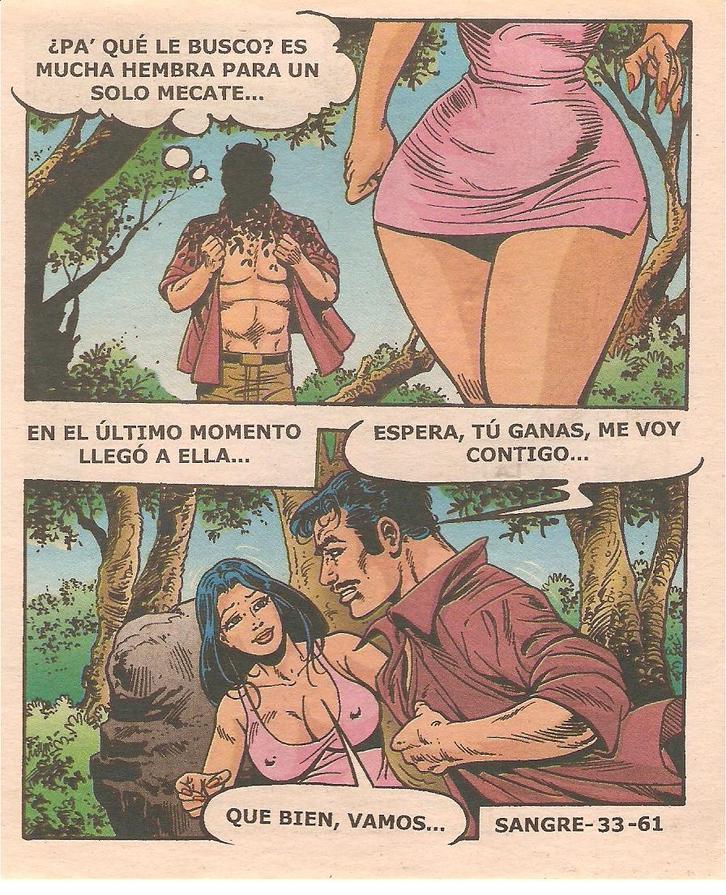 comic porno mexicano