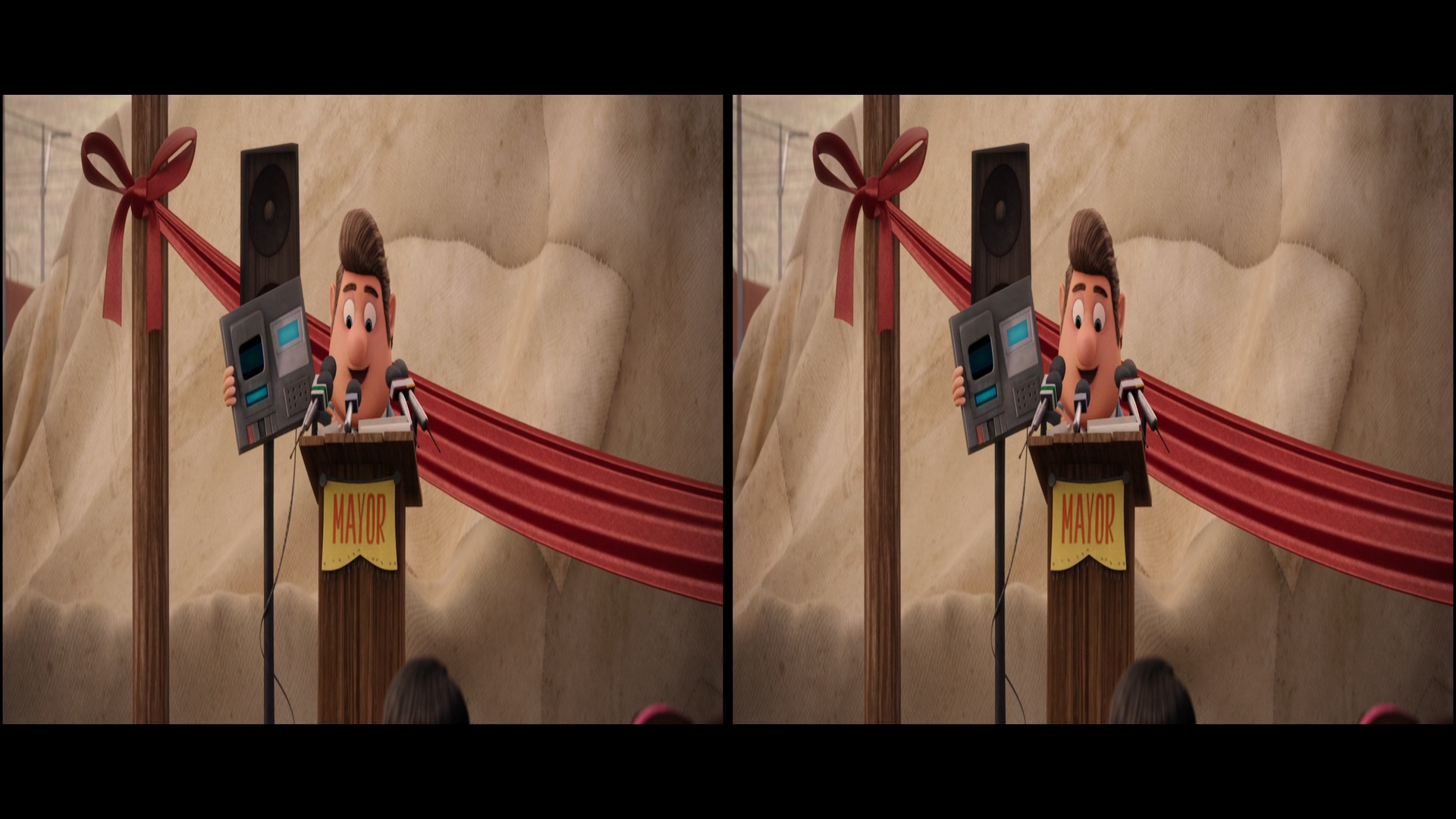 Cloudy with a Chance of Meatballs - Köfte Yağmuru 2009 3D (1080p Bluray H-SBS) DUAL TR-EN - 3D Film indir