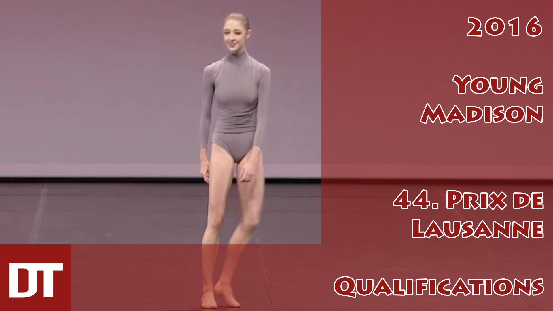 2016 – Young Madison – 44. Prix de Lausanne – Qualifications