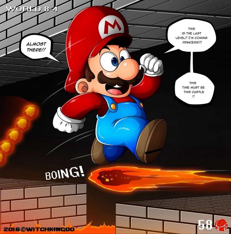 Mario Porn Comic