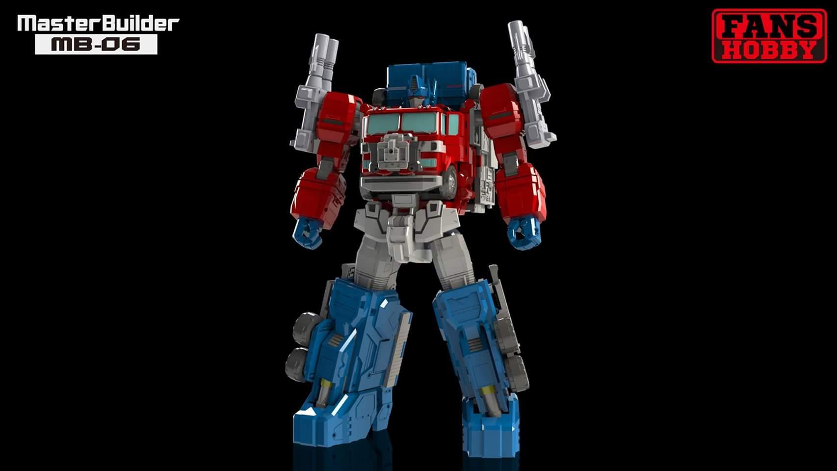 [FansHobby] Produit Tiers - MB-06 Power Baser (aka Powermaster Optimus) + MB-11 God Armour (aka Godbomber) - TF Masterforce 4SBAmklb