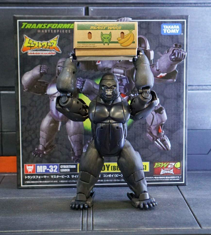 [Masterpiece] MP-32, MP-38 Optimus Primal et MP-38+ Burning Convoy (Beast Wars) - Page 3 FqF0O0bS