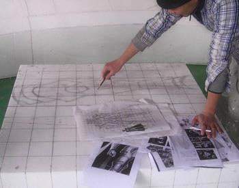 Processo de criação da Armadura de Gemeos para a exibição de Pachinko P8oraxbd