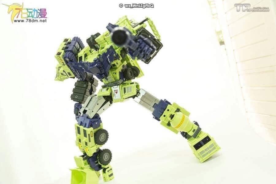 [Toyworld] Produit Tiers - Jouet TW-C Constructor aka Devastator/Dévastateur (Version vert G1 et jaune G2) - Page 7 GedayWx9