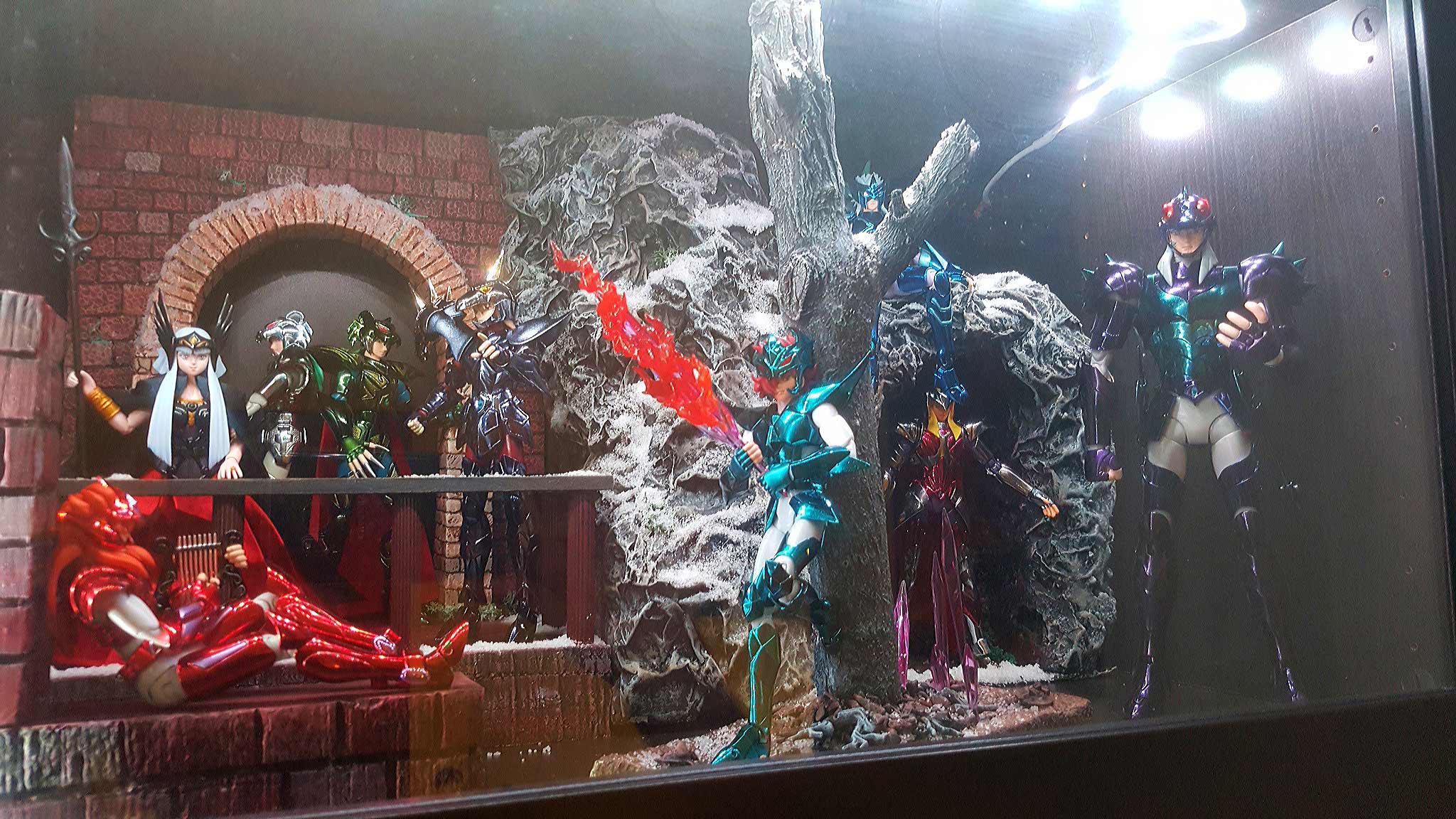 piccolo diorama per i cavalieri di asgard