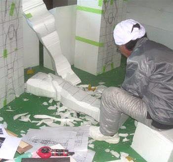 Processo de criação da Armadura de Gemeos para a exibição de Pachinko 9NqYypT6