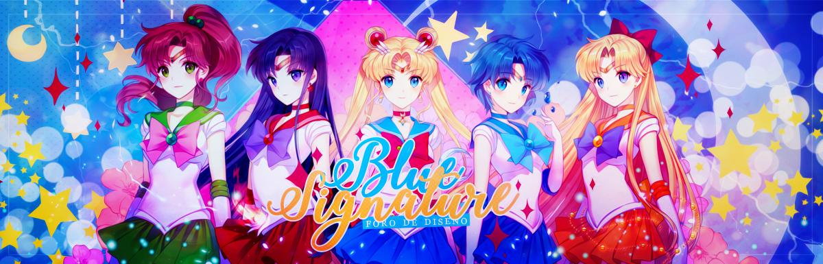 Blue Signature