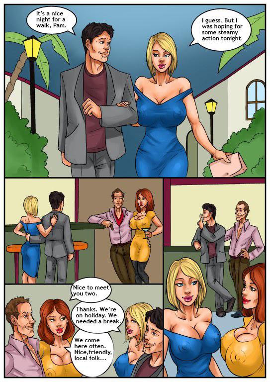 wife cheating Cartoon porn comic